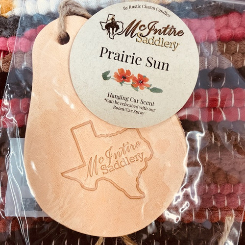 McIntire Saddlery Prairie Sun Car Scent