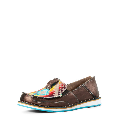 Ariat Copper Metallic Cruiser, Rainbow Aztec