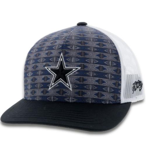 Dallas Cowboys x Hooey Navy Aztec Snapback