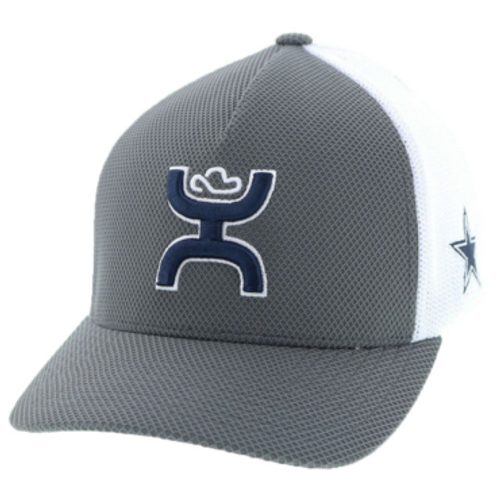 Dallas Cowboys x Hooey Cap, Gray/White