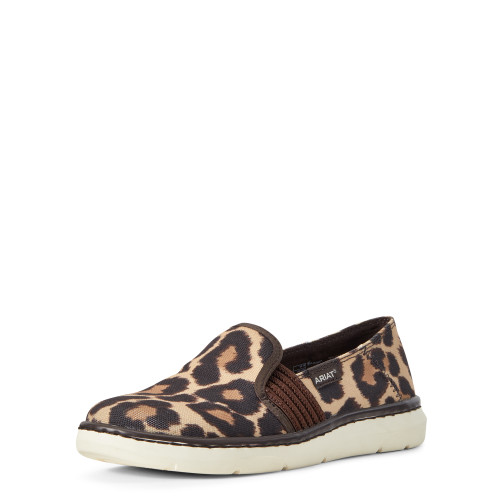 Ariat Ladies Ryder Leopard Print Casual Shoe