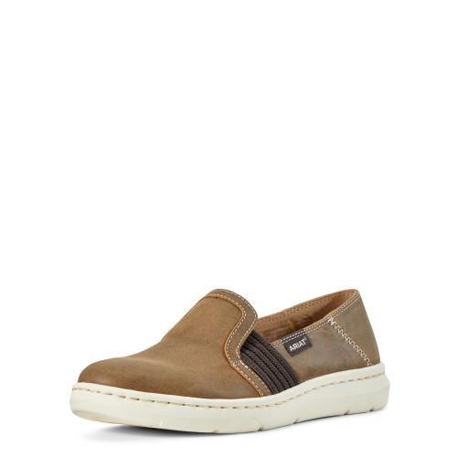 Ariat Ryder Women's Slip On Shoe, Brown Bomber