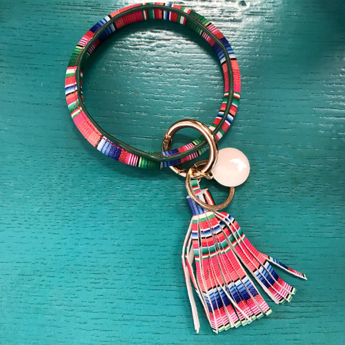 Serape Key Ring