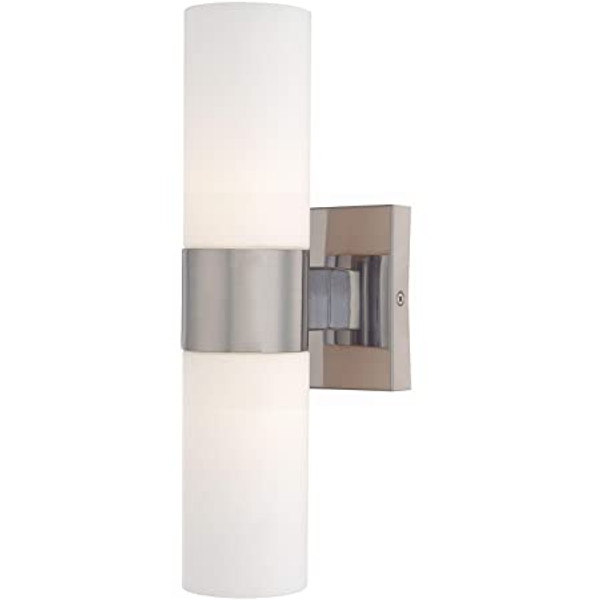 Nuvo Lighting 62/2936 Link - 21 Inch 24W 2 LED Vertical Wall Sconce Brushed