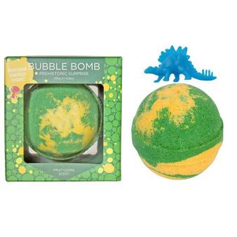 Dinosaur surprise bubble bath bomb