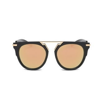 Brow Bar Rounded Sunglasses