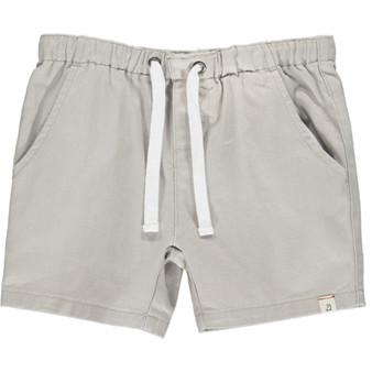 Gray Twill Shorts