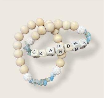 Grandma bracelet stack