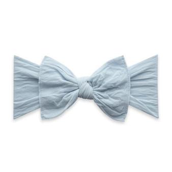 Chambray knot bow