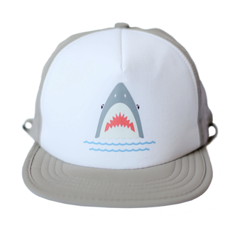 Shark Bite Trucker Sun Hat