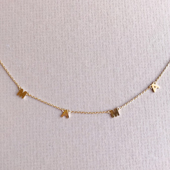 """16"""" Gold Mama Necklace"""
