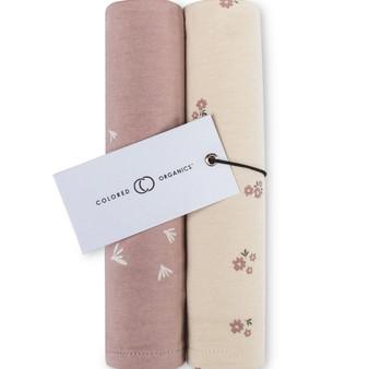 Burp Cloth (2-Pack) Petal & Blossom