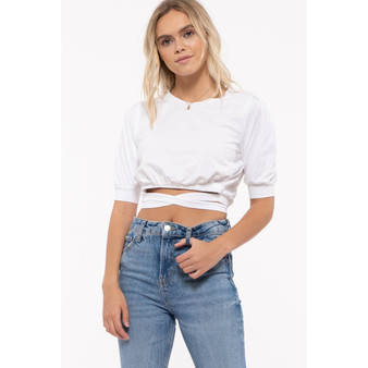 Wrapped Up Crop Top
