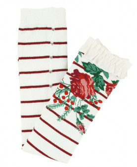 Winterberry Floral Footless