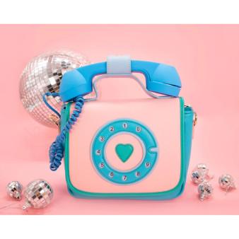 Ring Ring Phone Handbag - Mermazing Blue