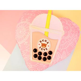Bobalicious Milk Tea Handbag