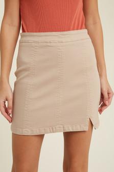 Make Me Blush Mini Skirt