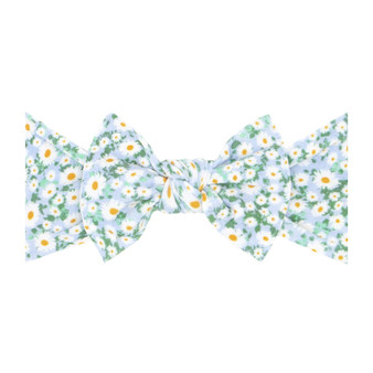 Dilly Daisy Printed Knot Bow