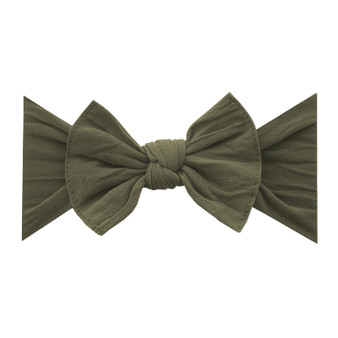 Army Green Knot Bow