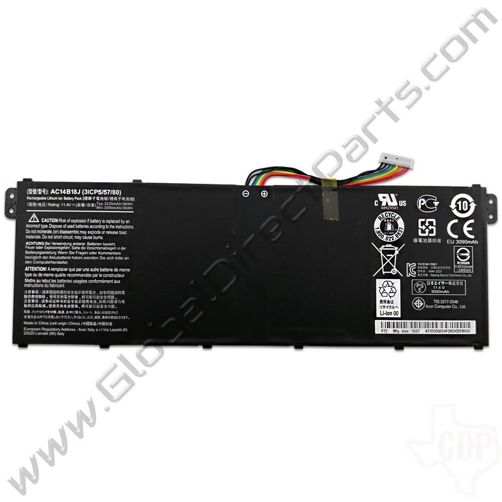 OEM Acer Chromebook 11 CB3-111 Battery [AC14B18J]