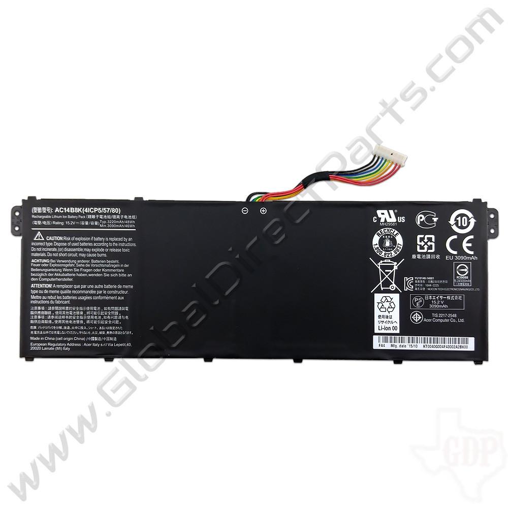 OEM Acer Chromebook 15 CB3-531, 13 CB5-311, C910, C810 Battery [AC14B8K]