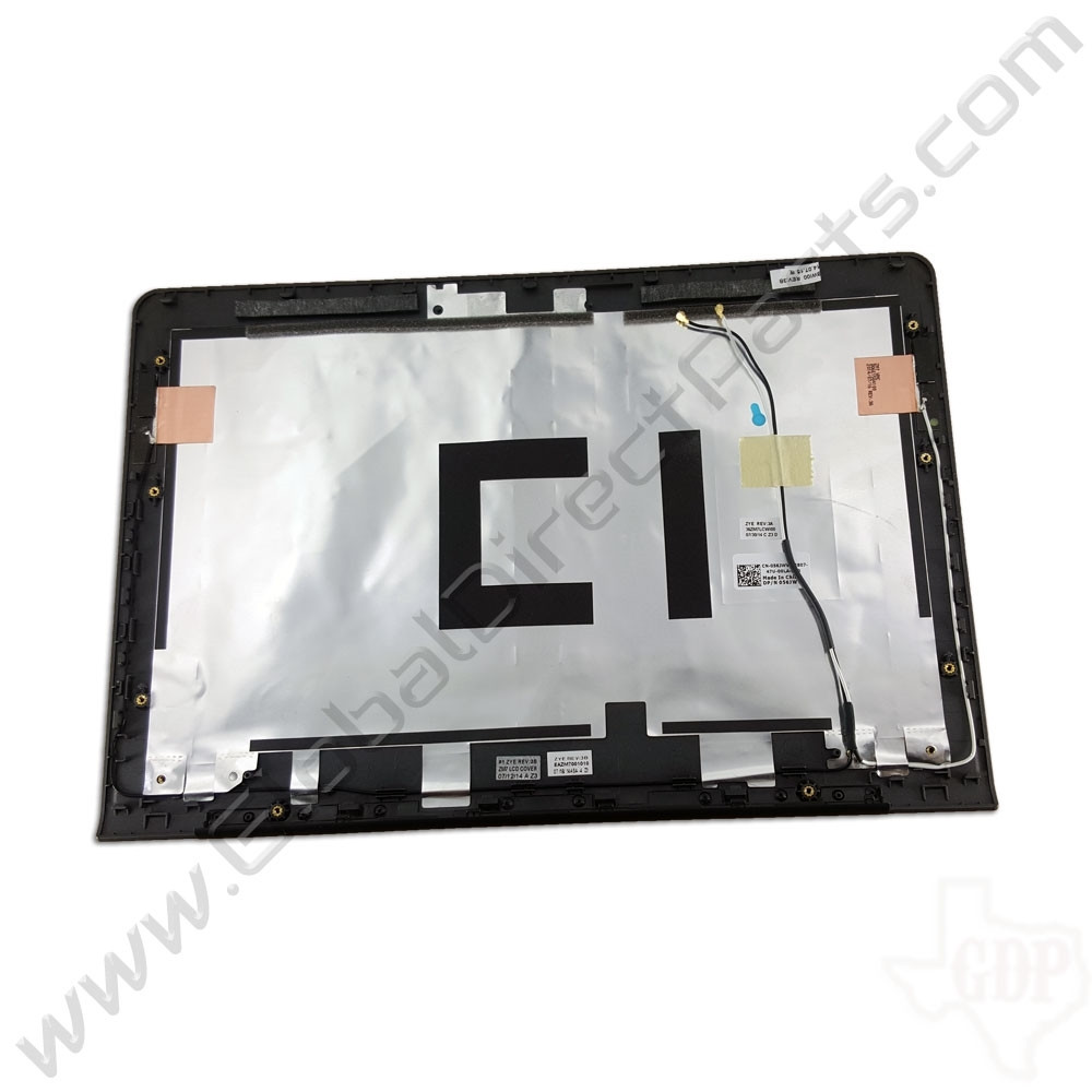 OEM Reclaimed Dell Chromebook 11 CB1C13 LCD Cover [A-Side] - Gray [056JWV]