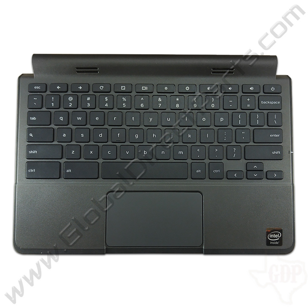 OEM Dell Chromebook 11 CRM3120 Keyboard with Touchpad [C-Side] - Black