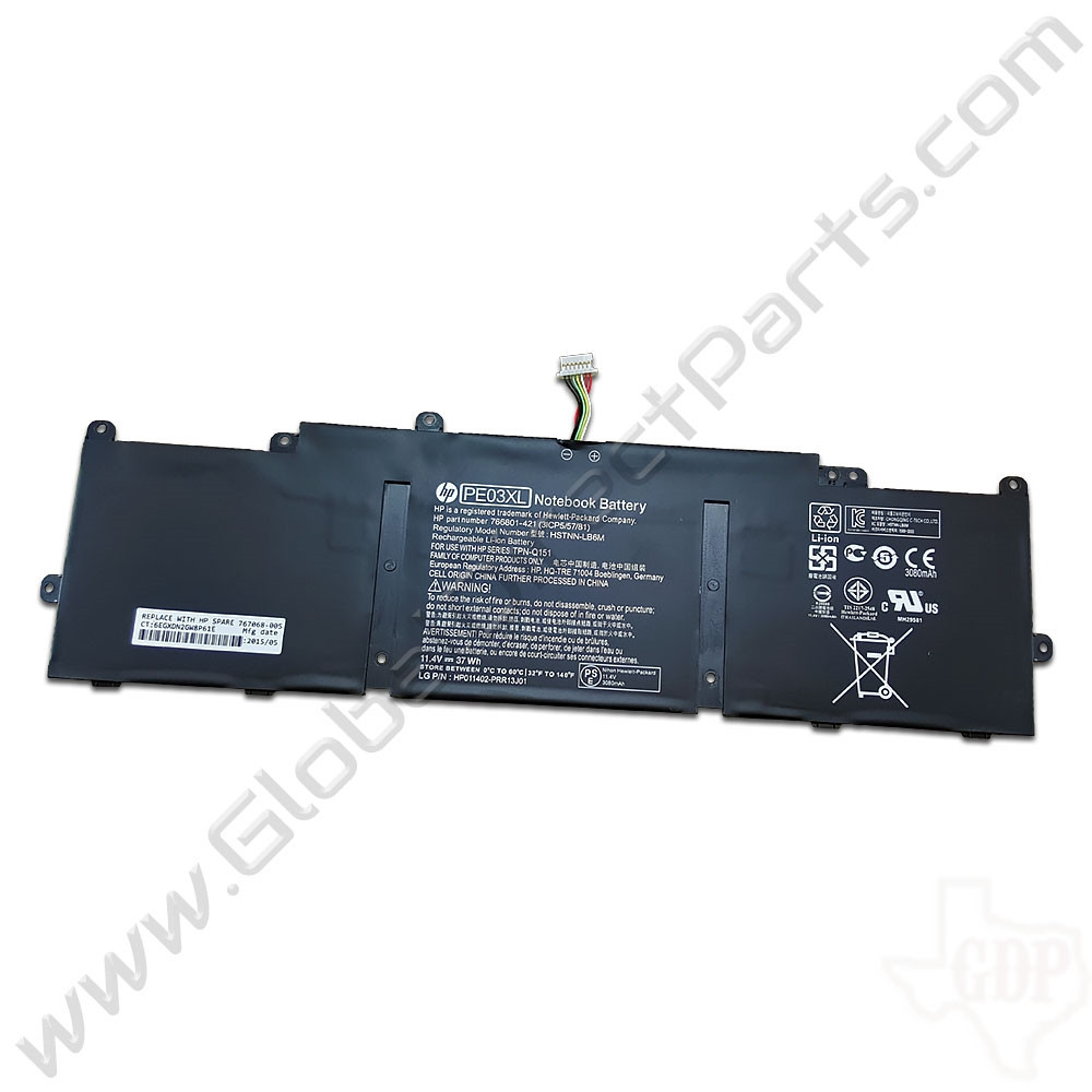 OEM HP Chromebook 11 G3, G4, G4 EE Battery [767068-005]