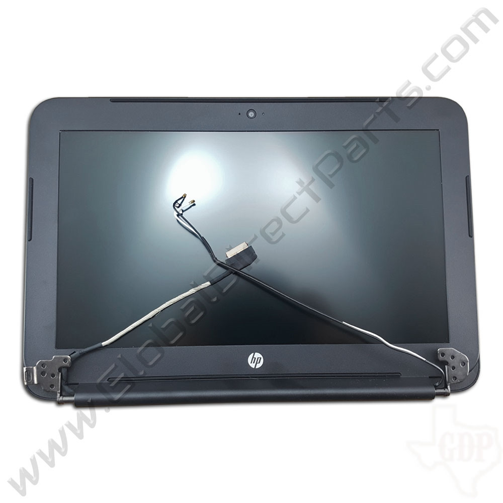 OEM HP Chromebook 11 G3 Complete LCD Assembly - Black [794732-001]