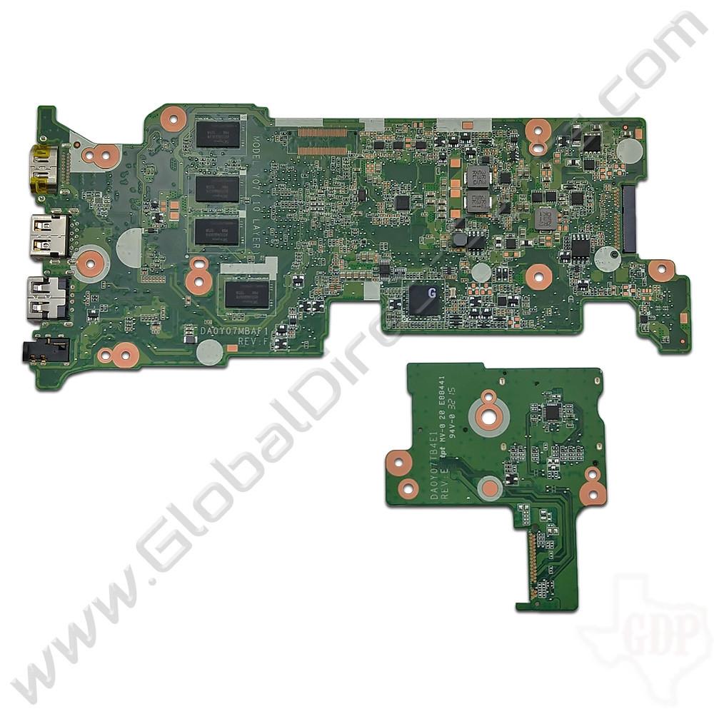 OEM HP Chromebook 11 G3, G4 Motherboard & Daughterboard Set [4GB] [787726-001]