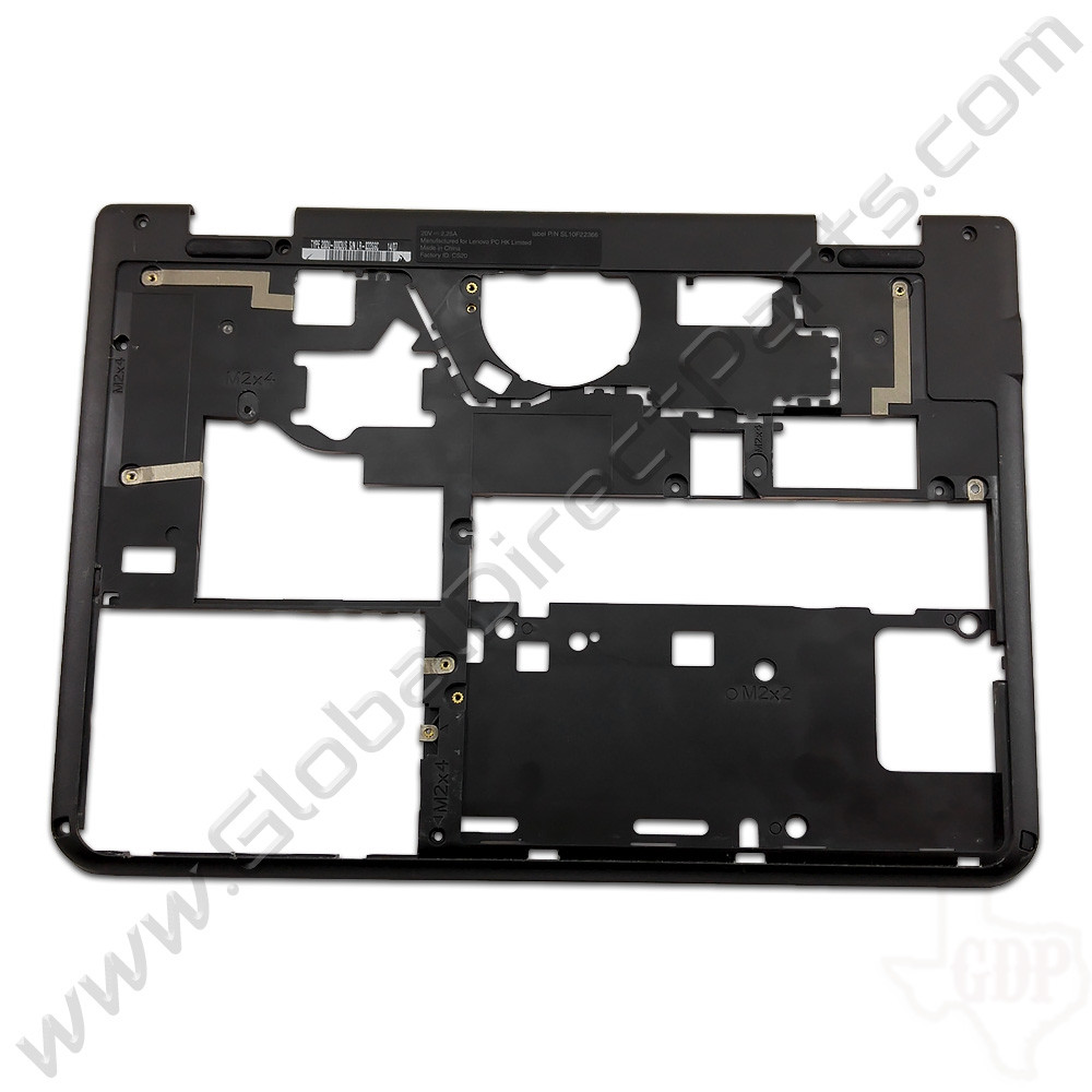 OEM Reclaimed Lenovo ThinkPad 11e, Yoga 11e Chromebook Bottom Housing [D-Side] - Black