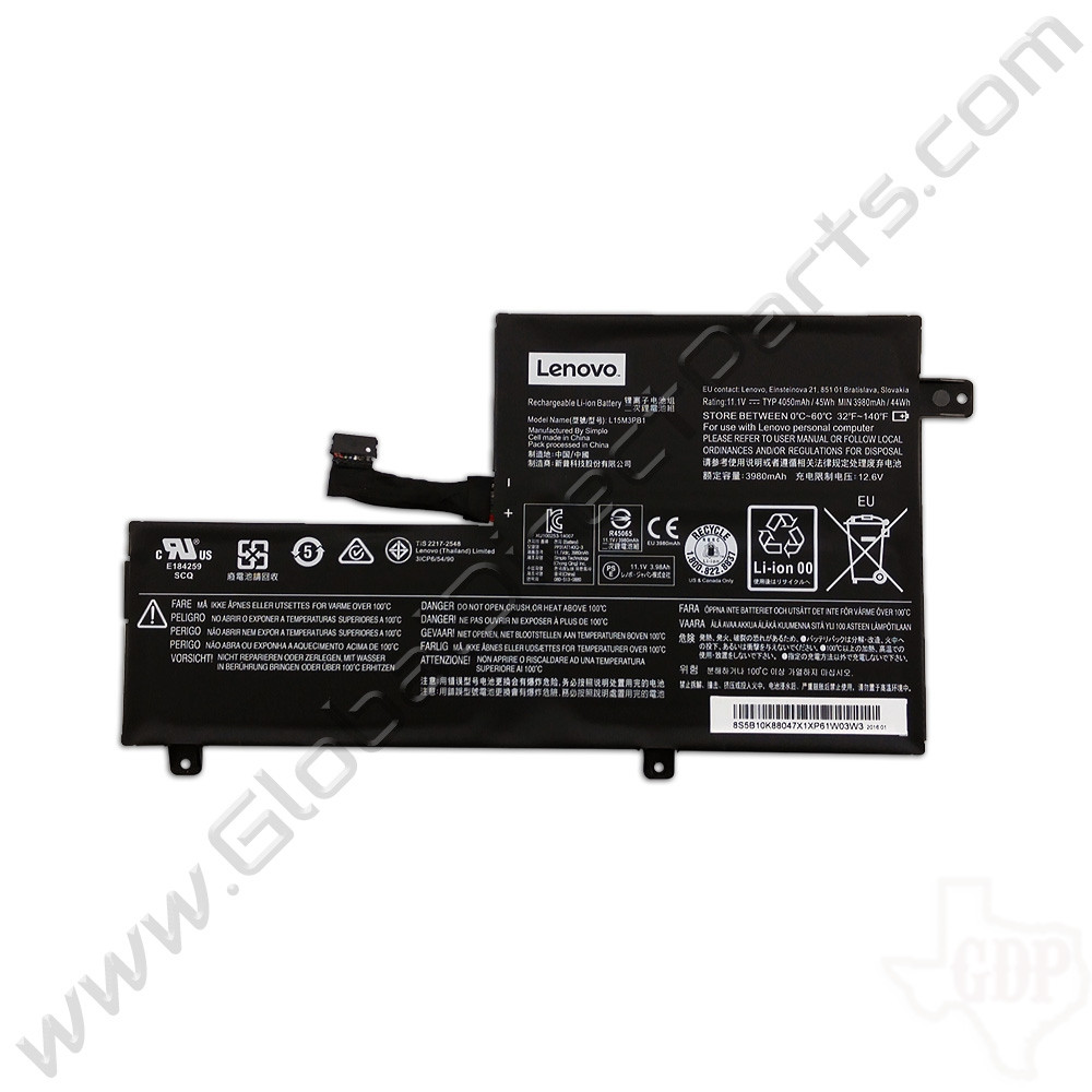 OEM Lenovo N22, N22 Touch, N23, N23 Touch, N23 Yoga, N42 Chromebook Battery