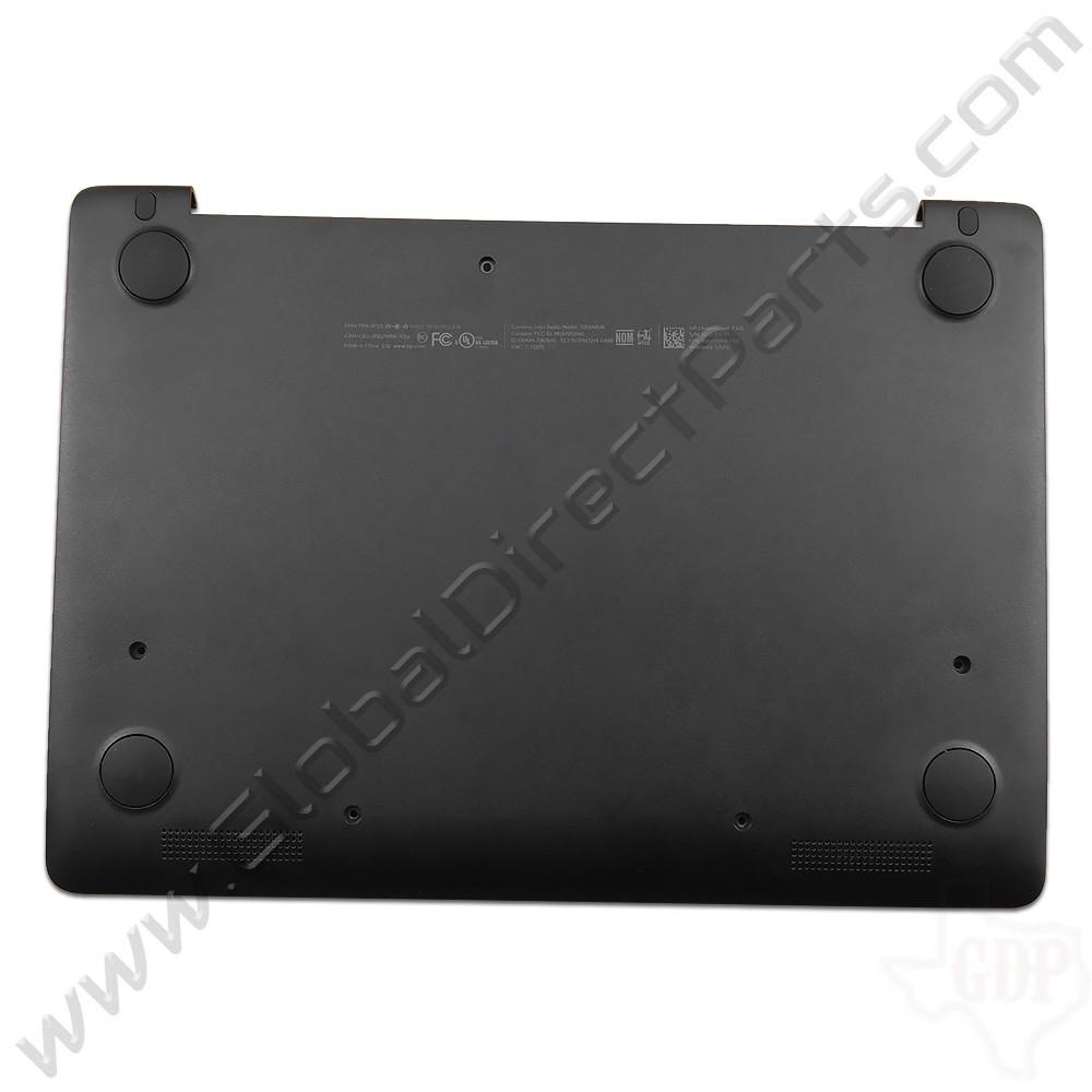 OEM HP Chromebook 11 G5, G5 Touch, 11-V011DX Bottom Housing [D-Side] - Black [900807-001]