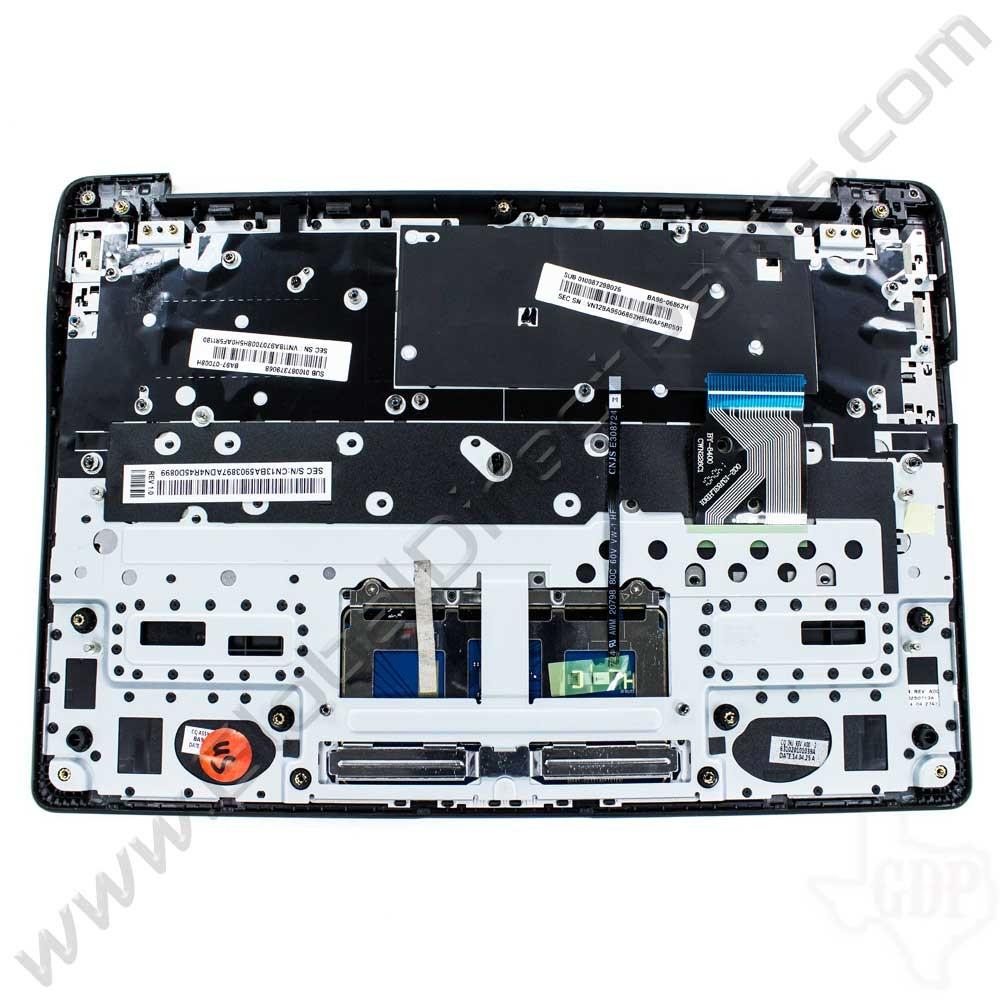 OEM Samsung Chromebook 2 XE503C12 Keyboard with Touchpad [C-Side] - Black [BA98-00266A / BA41-02331A]