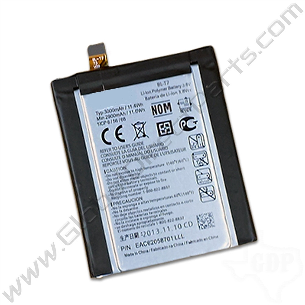 OEM LG G2 D800, D801, D802, LS980, VS980 Battery [BL-T2]