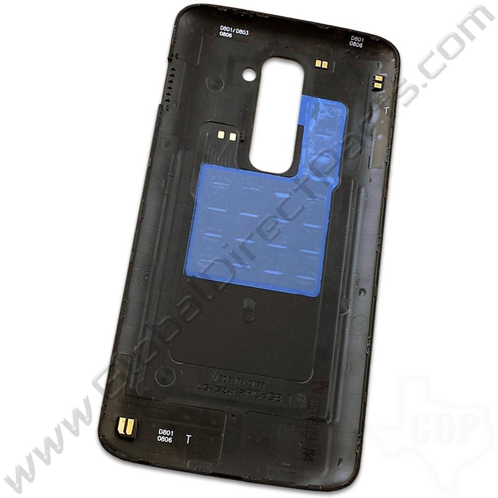 OEM LG G2 D801 Battery Cover - Black