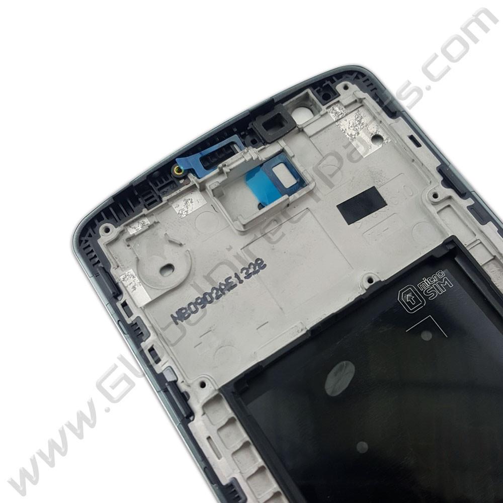 OEM LG G3 Front Housing - Black