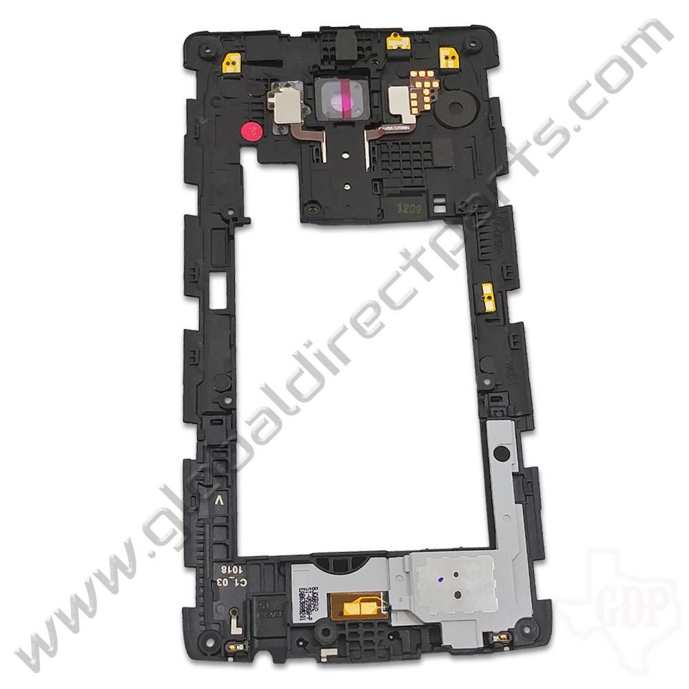 OEM LG G4 VS986 Rear Housing with Loud Speaker Module - Gray [ACQ88320601]