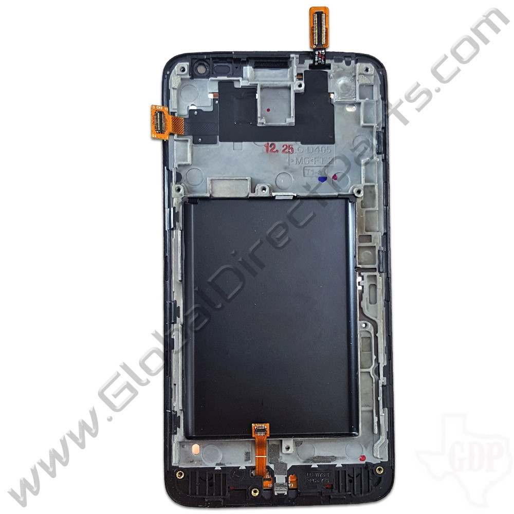 OEM LG Optimus L90 D415 LCD & Digitizer Assembly with Front Housing