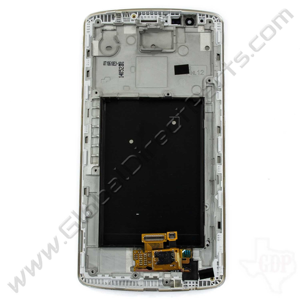 OEM LG G3 LS990 LCD & Digitizer Assembly with Front Housing - Gold
