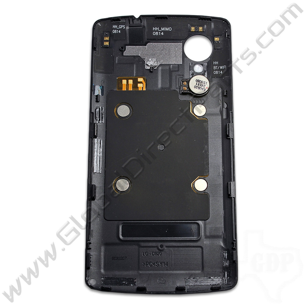 OEM LG Google Nexus 5 D820 Battery Cover - Black
