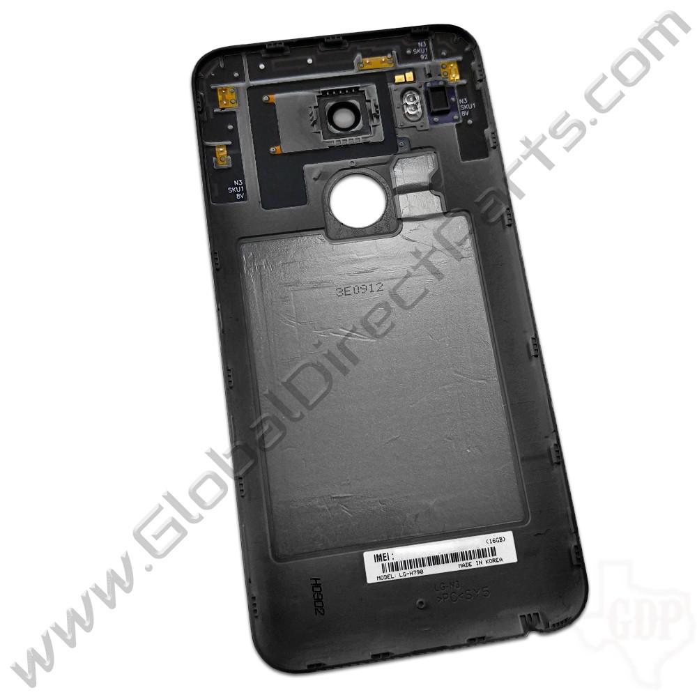OEM LG Google Nexus 5X Battery Cover - Black