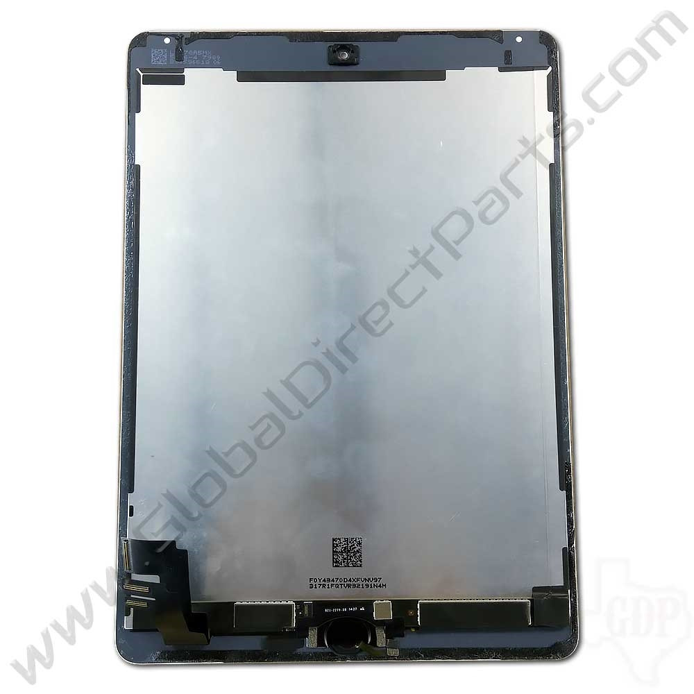 OEM Apple iPad Air 2 LCD & Digitizer Assembly [Including Home Button] - White [Silver Ring]