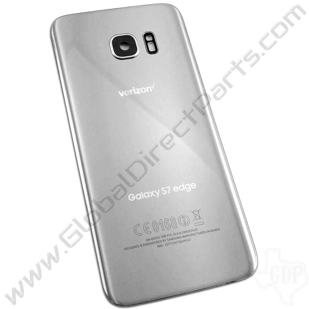 OEM Samsung Galaxy S7 Edge G935V Battery Cover - Silver