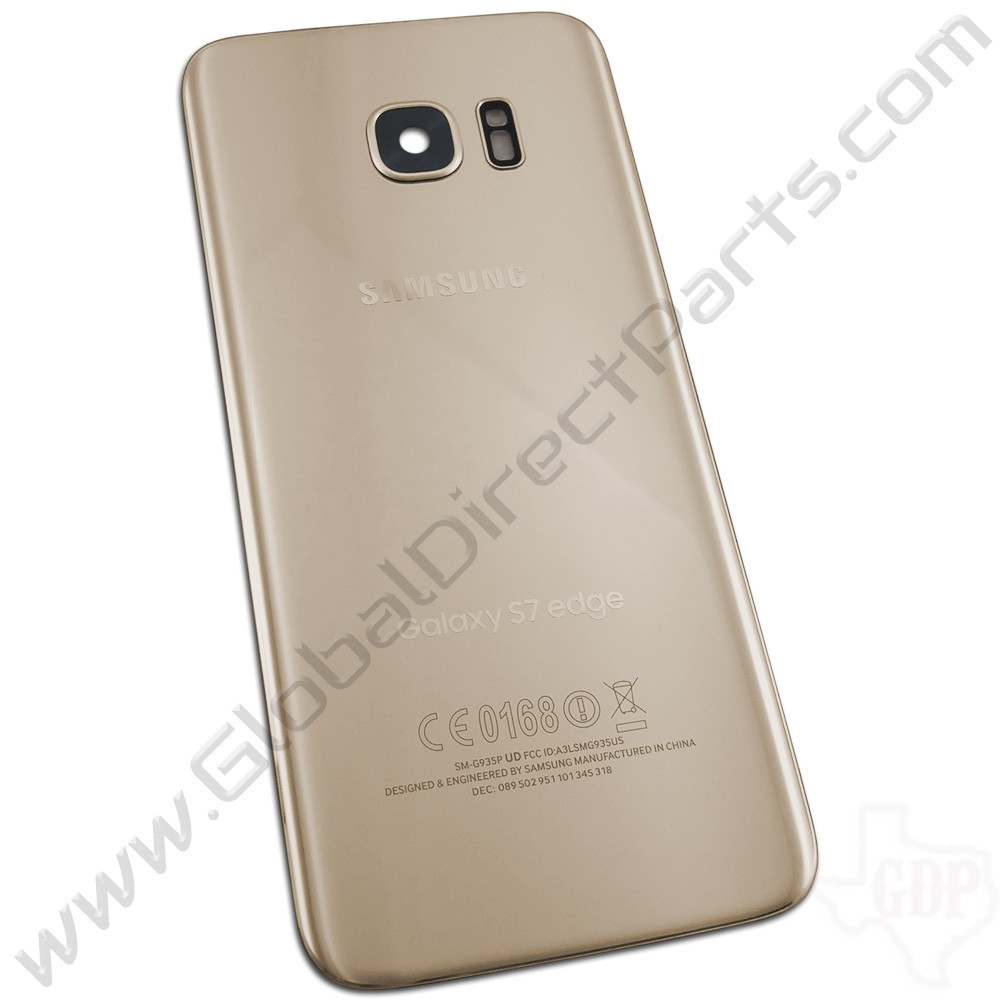 OEM Samsung Galaxy S7 Edge G935T, G935P, G935R Battery Cover - Gold