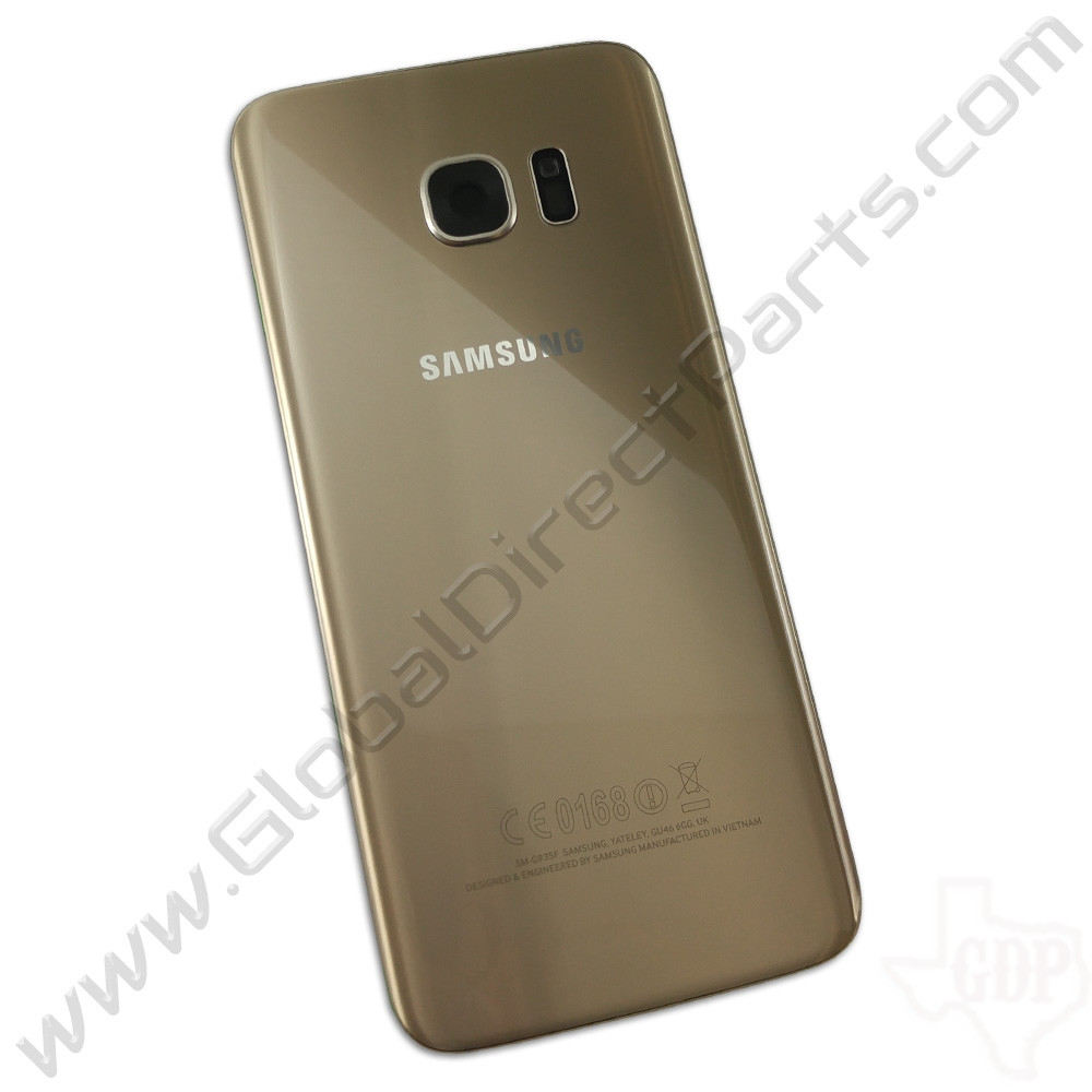 OEM Samsung Galaxy S7 Edge G935F Battery Cover - Gold