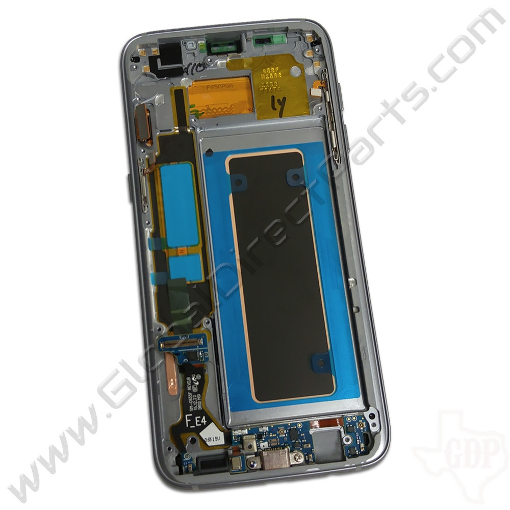 OEM Samsung Galaxy S7 Edge G935F Complete AMOLED & Digitizer Assembly with Front Housing - Black
