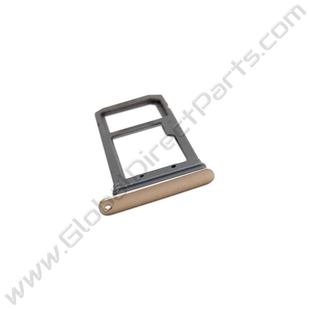 OEM Samsung Galaxy S7 Edge SIM Card Tray - Gold