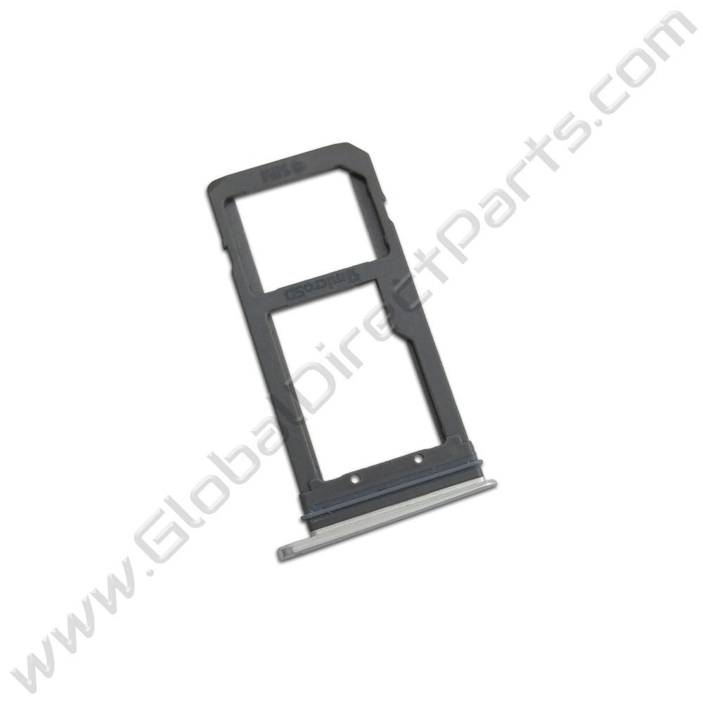 OEM Samsung Galaxy S7 Edge SIM Card Tray - Gray
