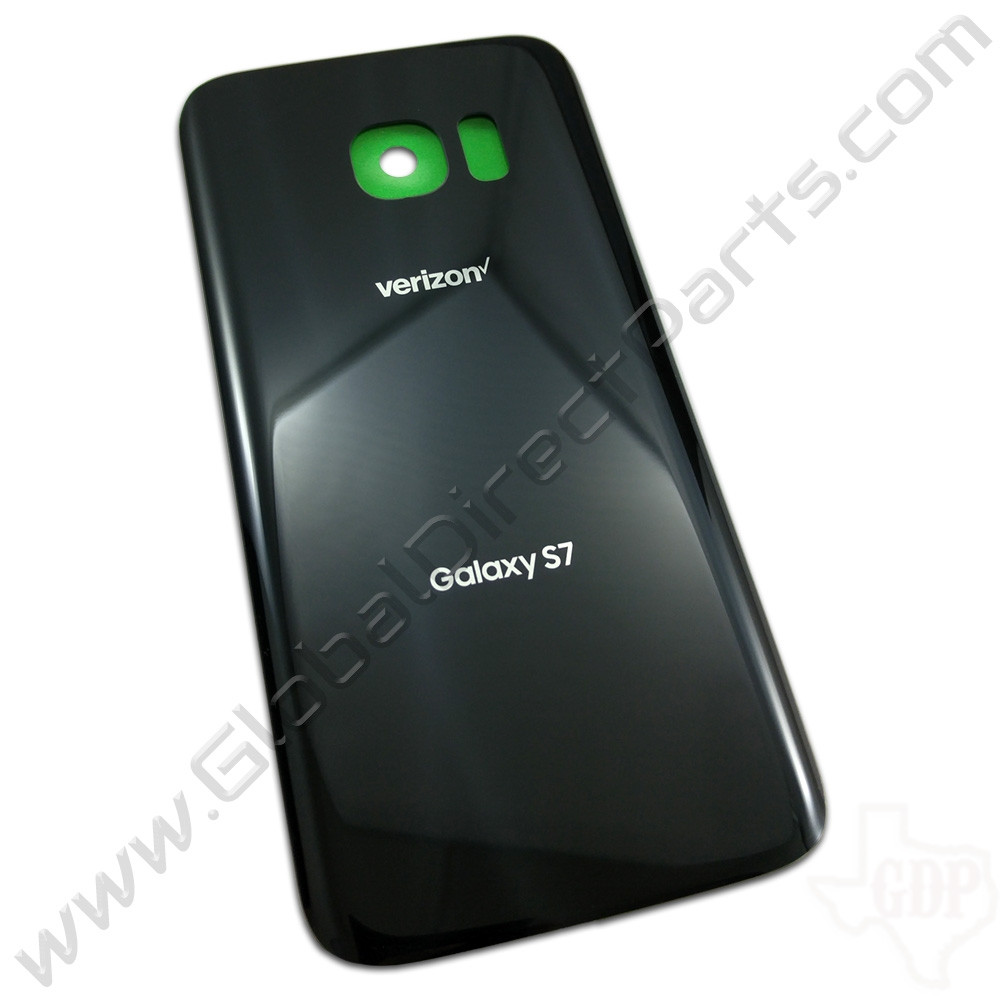 OEM Samsung Galaxy S7 G930V Battery Cover - Black
